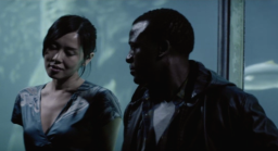 With Tony Kgoroge in Carey McKenzie's COLD HARBOUR (2012)